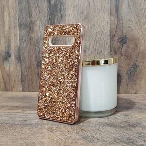 Samsung Galaxy S10 Plus rose gold phone case
